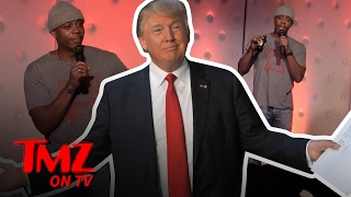 Repeat youtube video Trump Supporter Gives Dave Chapelle Some Material To Work With | TMZ TV