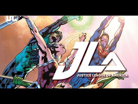 Justice League of America: Power and Glory GRAPHIC NOVEL REVIEW