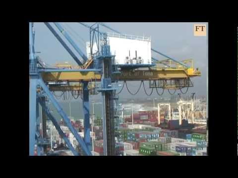 China booming trade tests Africa's ports