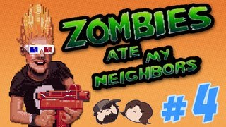 Zombies Ate My Neighbors - The Field of Death - PART 4 - Game Grumps