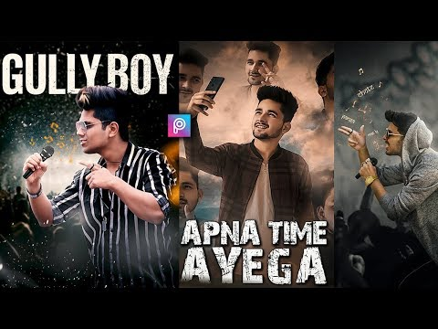 Gully Boy Movie Poster Editing Background Stock Png