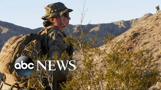 History is made as the Marine Corps welcomes its 1st female infantry officer
