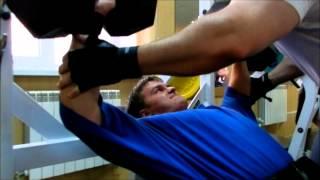 Александр Маслов. Тренировка 7 мая 2012 года
