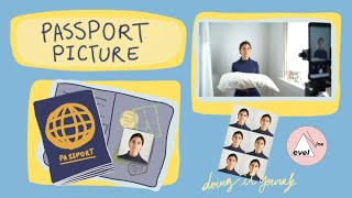How to Light a Portrait/ Passport Photo at Home