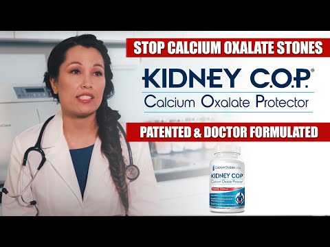 Calcium Oxalate Stones? Must see video !