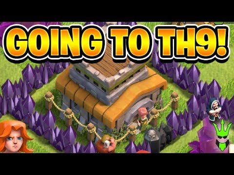 GOING TO TH9! - Taking Advantage of the Hammer Jam Event! - Clash of Clans