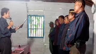 Sumpah & Janji Anggota KPPS oleh Ketua KPPS Dok. Video Pilpres…