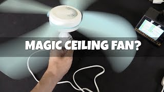Budget ceiling fan with a nifty trick?