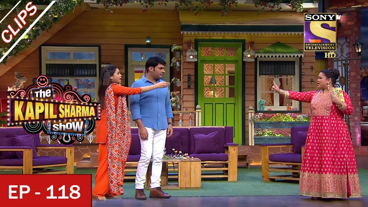 Bharti's Grand Entrance - The Kapil Sharma Show - 2nd July, 2017