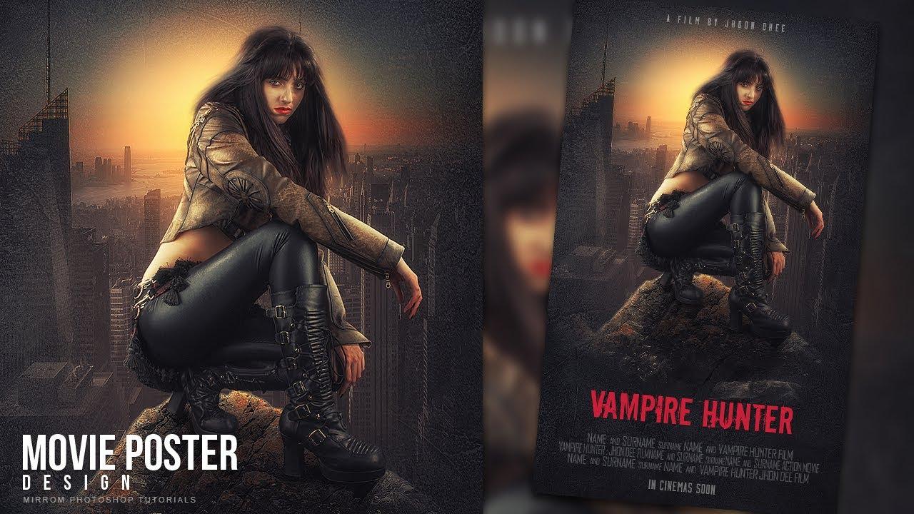 Movie Poster Photoshop Tutorial - oc-ubezpieczenia info