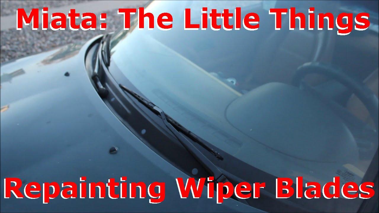 Mazda MX5 Windscreen Wiper Arms with Blades