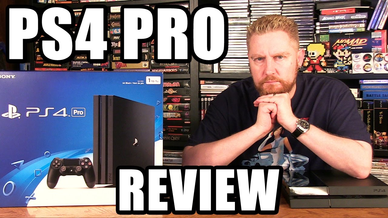 PLAYSTATION 4 PRO REVIEW - Happy Console Gamer