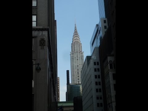 UN- Chrysler- &  MetLife Building  -  N.Y. 2016