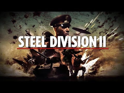 Steel Division 2 Gameplay  - Defense Map 2vs1 [WW2 Strategy]