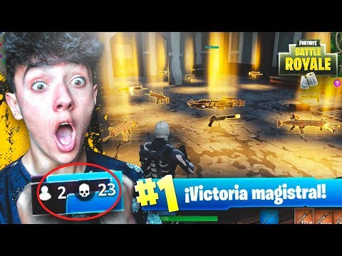 LA PARTIDA DE MI VIDA EN EL NUEVO MODO DE JUEGO de FORTNITE: Battle Royale!! - Agustin51