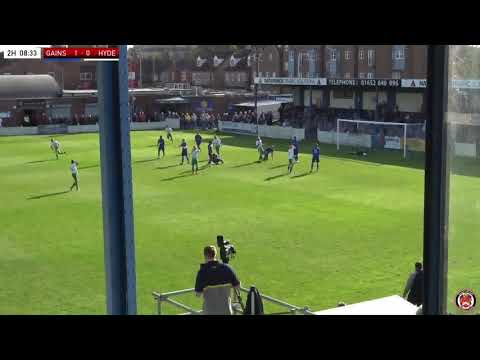 Gainsborough Hyde Goals And Highlights