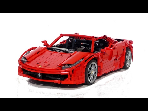 lego technic red spider youtube. Black Bedroom Furniture Sets. Home Design Ideas
