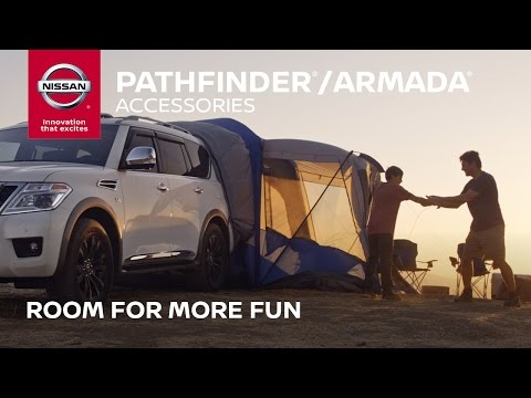 2017 Nissan Pathfinder / Armada Accessories | Room For More Fun