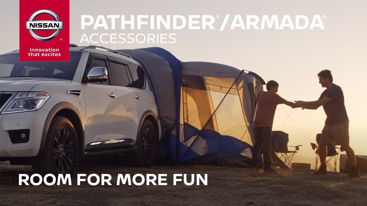 2017 Nissan Pathfinder / Armada Accessories | Room for More Fun - YouTube & 2017 Nissan Pathfinder / Armada Accessories | Room for More Fun ...