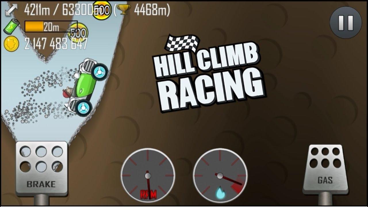 Hill Climb Racing Electric Car 4511m In Cave