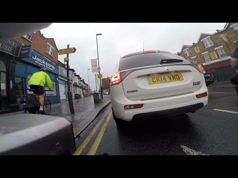 Pavement cyclist doesn't like being called out