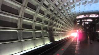 Washington DC Metro Blue Line at Foggy Bottom Station by Preston Tsao