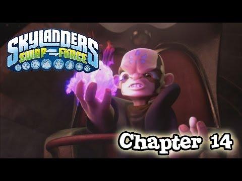 Let's Play Skylanders SWAP FORCE - Chapter 14 FANTASM FOREST (Hard Mode)