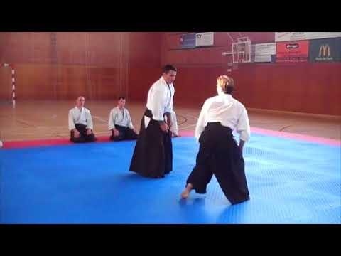 Roberto Sánchez Aikido. TSUKI JODAN