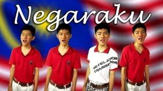 """Negaraku"" Malaysia National Anthem - Happy Malaysia Day! - acapella quartet Gloson Teh"