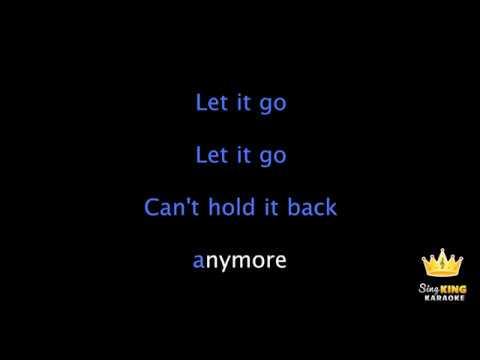 Frozen - Let it Go - Original Sound Track - Plus Karaoke Words