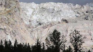 Il ghiacciaio del Monte Bianco fa meno paura