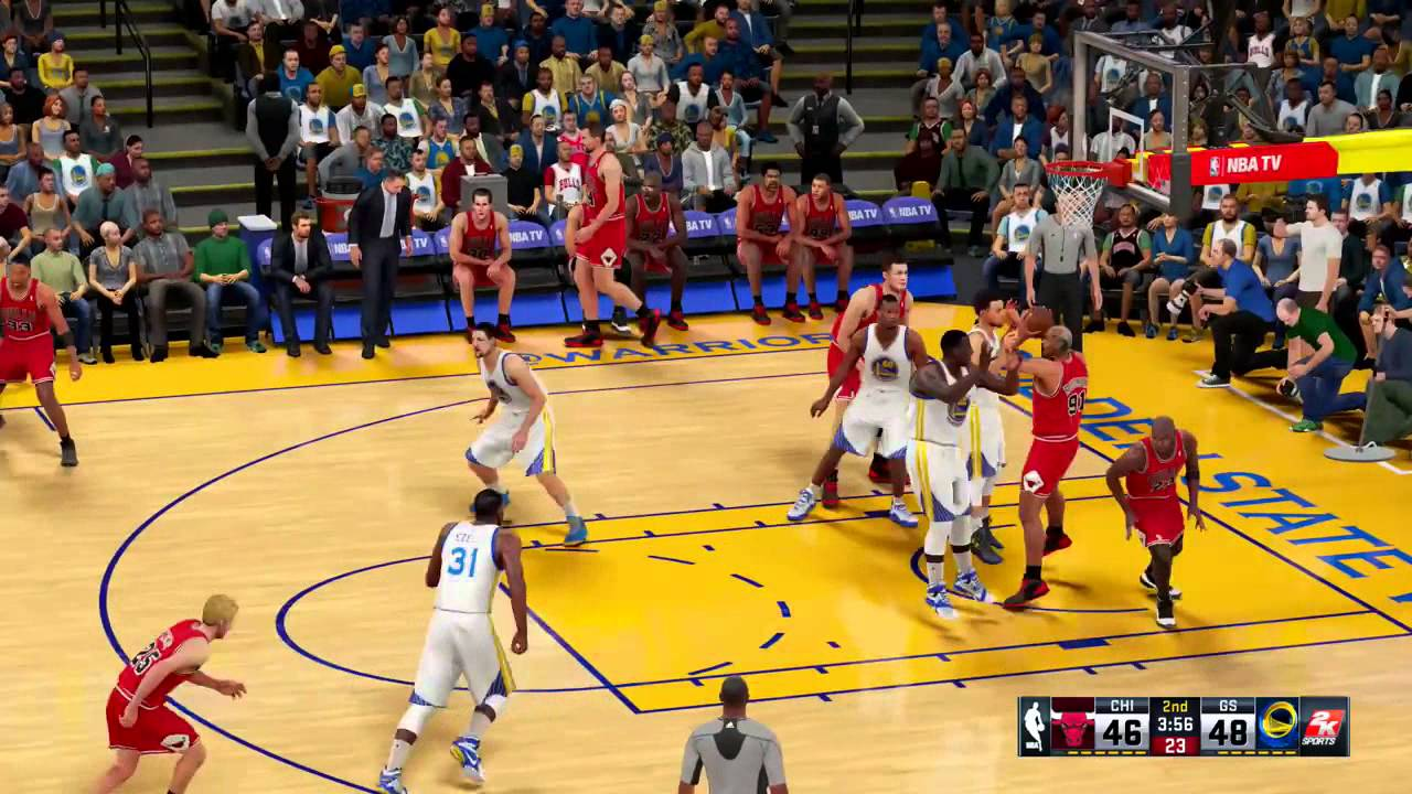 NBA 2K16   '95 '96 Bulls vs Golden State Warriors
