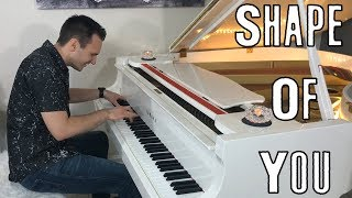 Download Shape of You - Piano Cover by Jonny May MP3 song and Music Video