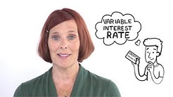 What are variable interest rates?
