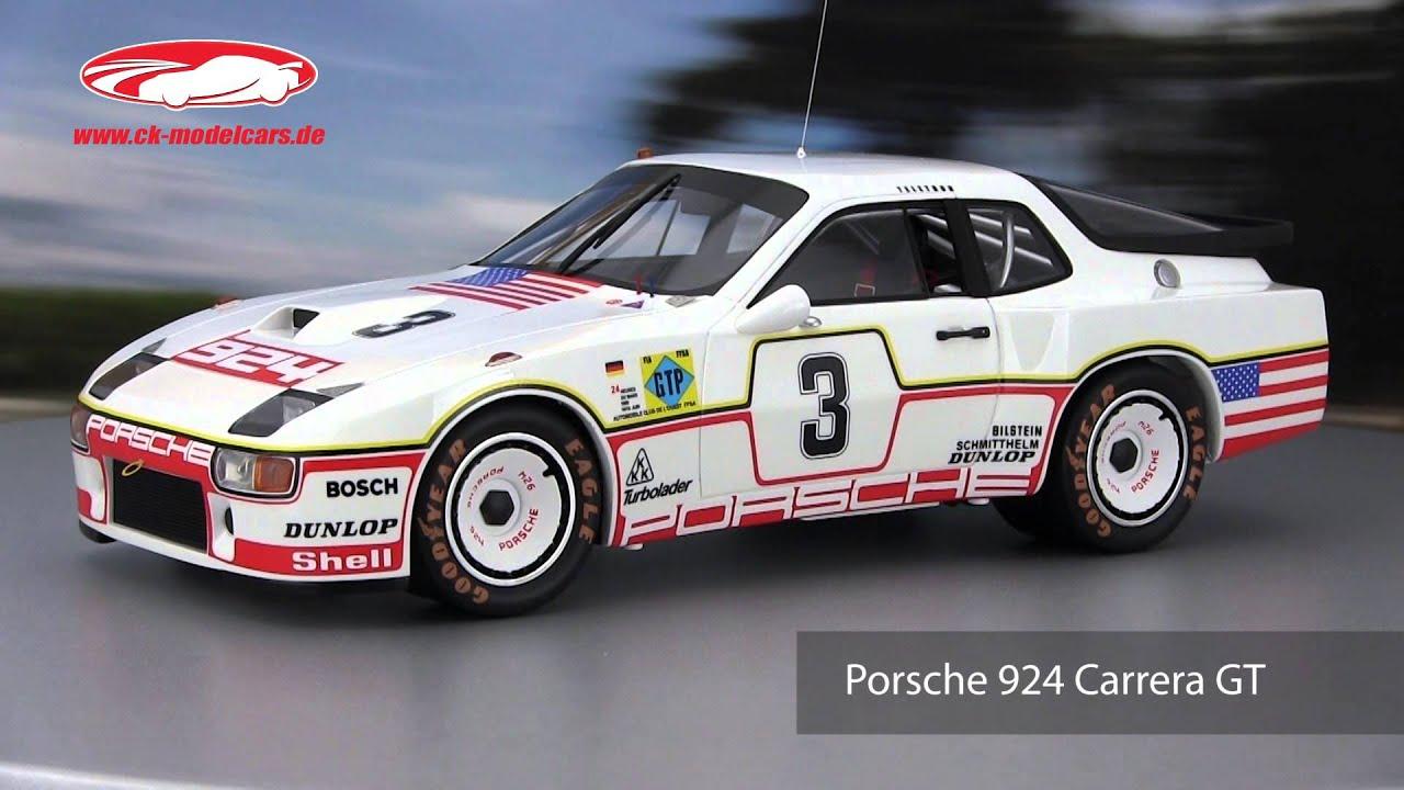 ck,modelcars,video Porsche 924 Carrera GT 3 24h LeMans 1980 Bell Holbert  TrueScale