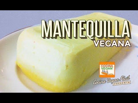 Mantequilla vegana - Cocina Vegan Fácil