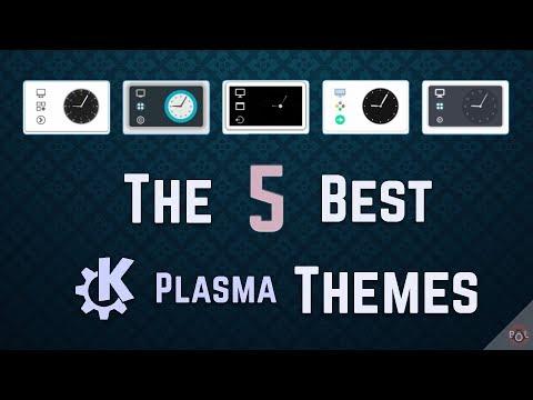 The 5 Best KDE Plasma Themes