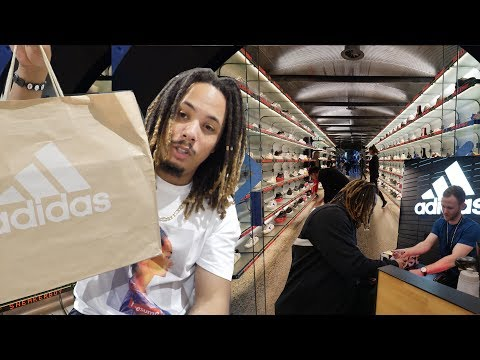 721c9034829c7 THESE SOLD OUT INSTANTLY I FINALLY GOT TO VISIT THIS FAMOUS SNEAKER STORE