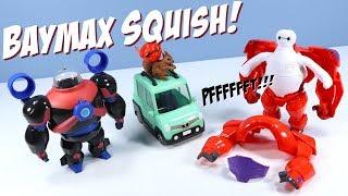 Великий герой 6 серії хлюпати, щоб відповідати Беймакс іграшка огляд