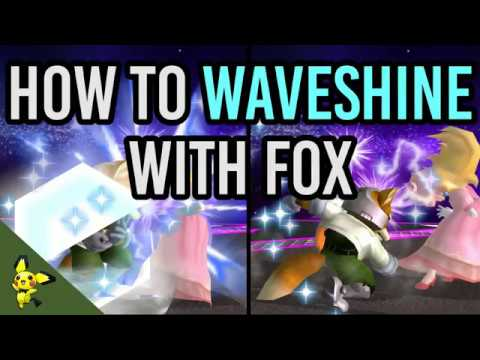 How to Waveshine - Super Smash Bros. Melee