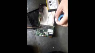 cara mengganti baterai axioo windroid 7g part 2