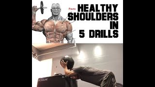 Healthy Shoulders in 5 Steps | SmashweRx | Trevor Bachmeyer