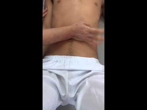 Kỹ thuật xoa bóp vùng bụng