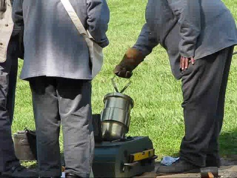 Civil War Mortars In Action