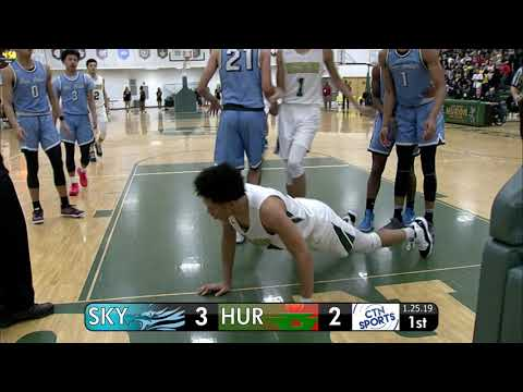 CTN SPORTS 2019 - Skyline @ Huron Men's Basketball, January 25