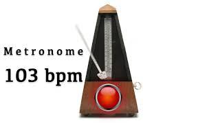 Metronome 103 bpm 🎼