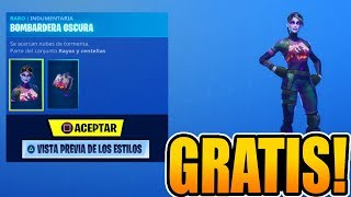 HOW TO GET THE *NEW SKIN* FREE DARK BOMBAR in FORTNITE: BATTLE ROYALE!