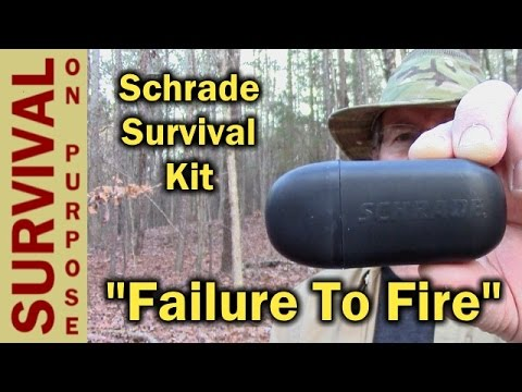 Schrade Survival Kit Review