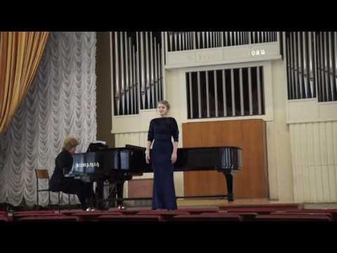 Г.Гендель, ария для сопрано