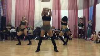 NEW dancehall choreo by DHQ FRAULES on Vybz Kartel -